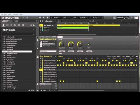 Maschine Tutorial - Drag and drop MIDI and WAV files