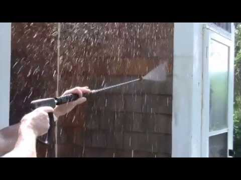 Cleaning Cedar Siding Safely with Cedar Wash