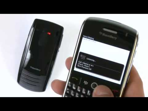 How to make and receive calls with your BlackBerry Visor Mount Speakerphone VM-605.MP4