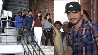 mahesh babu in fri deharadun new movie shooting MB25