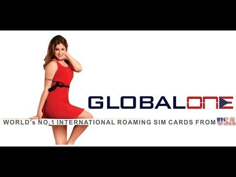 INTRODUCING GLOBAL ONE INTERNATIONAL ROAMING SIM