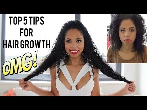 5 TOP TIPS TO GROW LONG HEALTHY CURLY HAIR QUICK
