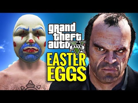 Grand Theft Auto 5 Easter Eggs & Cultural References