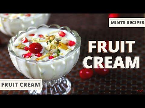 Fruit Cream Recipe | Dessert Recipes | Fruit Cream Salad