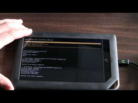 How to Install CyanogenMod on a Nook Color