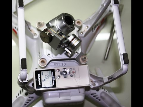 Flying with sound, DJI Phantom Vision 2 + with sound recorder