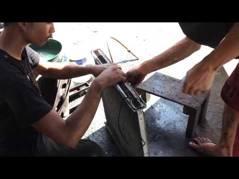 Car Overheating -How to Clean the Radiator Core of a Clogged Radiator- Part 4  Combined videos