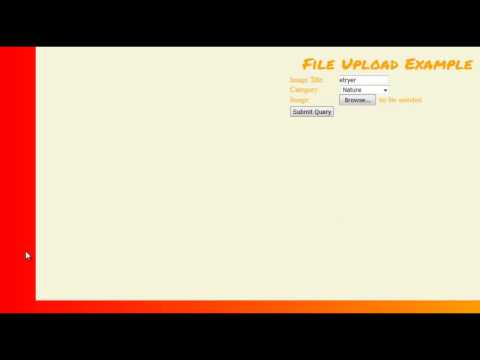 How to Create a Form to Upload a File in PHP - File Upload Pt 1