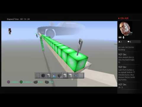 Minecraft PS4 Edition Christine Build Live!!!!