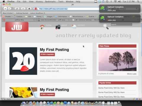 PSD to WordPress by AdobeMaster.org 6