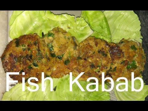 fish kabab -homemade hindi how to make