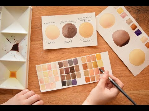 Watercolor Portraits for Beginners ~ Part 2 Skintones