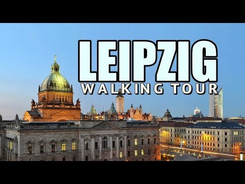 Leipzig Germany | A Walking Tour of City Centre