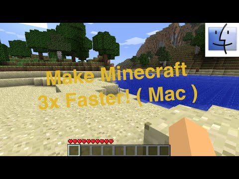 Make Minecraft 3x Faster! [Mac]