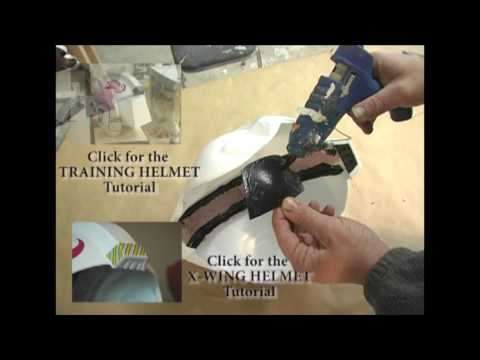 X-Wing Helmet Prop Building Tutorial PART 1 OF 3  HD