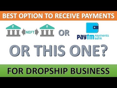 HOW WILL YOU TAKE PAYMENT FOR DROPSHIP BUSINESS