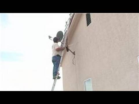 Satellite TV Installation : How to Align Satellite Dish Without a Meter