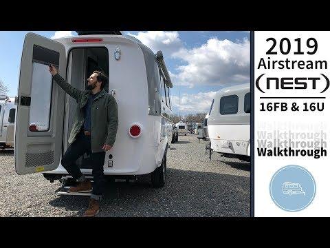 2019 Airstream Nest Travel Trailer Walkthrough