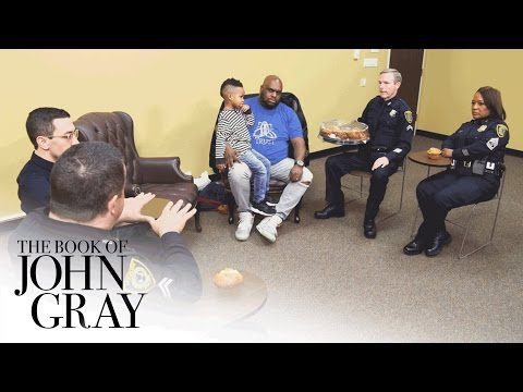 John Starts a Dialogue with the Houston Police Department | Book of John Gray | OWN