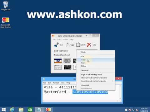 How to check if credit card number is valid