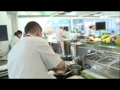 Coeliac UK's Gluten-free Chef of the Year competition 2011