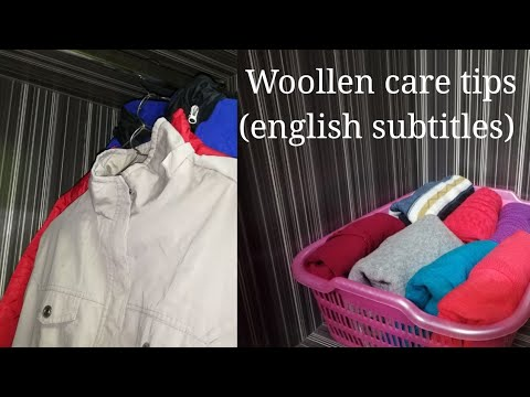 ऊनी कपड़ों के लिये उपयोगी टिप्स - How to wash, care and store woollens - sweater care