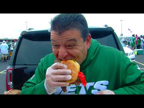 Tailgating at New York Jets vs The New England Patriots with Chef George 10/15/17
