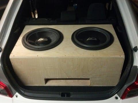 2 AudioQue 15s Time lapse Box Build Scion TC