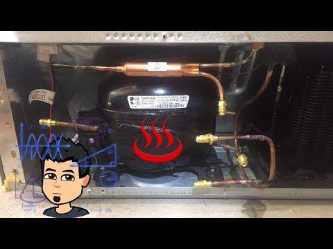 LG Compressor install