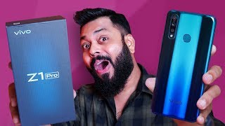 vivo Z1Pro Unboxing & First Impressions ⚡⚡⚡ Best Phone Under 15000??
