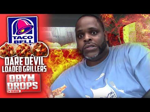 Taco Bell Dare Devil Loaded Grillers