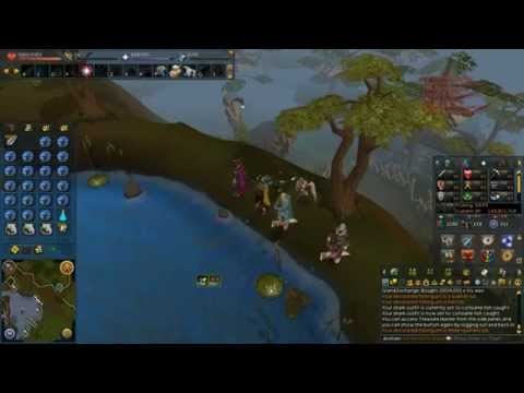 RuneScape - Barbarian Fishing (with Shark Outfit)