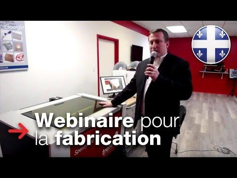 Webinaire laser pour les fabricants avec Frédéric Dadure | 29 mars 2018