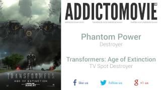Transformers: Age Of Extinction - Tv Spot Destroyer Music #1 (phantom Power - Destroyer)