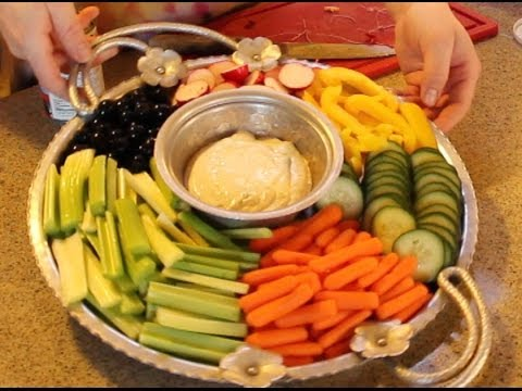How To Make The Most Amazing Vegetable Platter