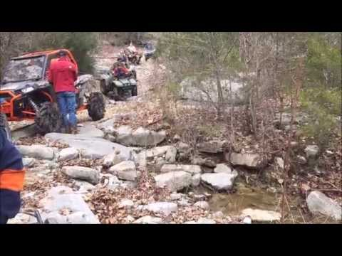 Early Spring 2015 Scenic Ride from Sandtown Ranch to Lafferty Falls Springs and Cave