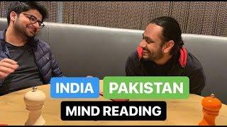India vs Pakistan Mind Reading | Karan Singh Magic