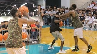 I LOST IT AT SNEAKERCON! 3 POINT CONTEST DISASTER! KYRIE LEAVING LEBRON THOUGHTS