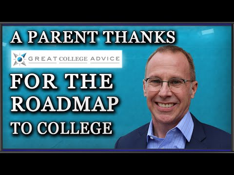 Roadmap to College - A Parent Thanks Great College Advice