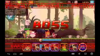 Crusaders Quest - Defeating The Fierce Grant Finally! Nest Of Divine Beast Stage 4