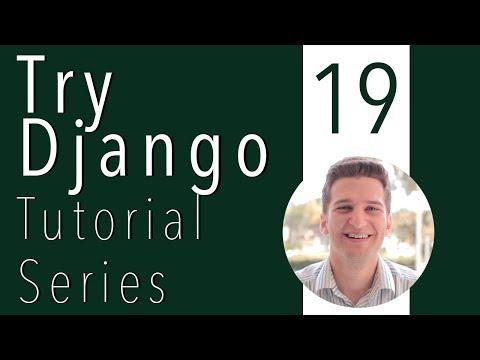 Try Django Tutorial 19 of 21 - Django Serve Static in a Production Server & Add Custom Django App