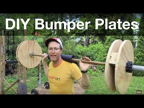 DIY Technique Plates for Crossfit, Weight Training, Olympic Lifts