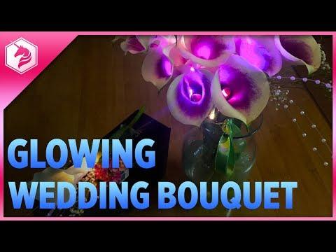 LEARN: Light Up Wedding Bouquet and Boutonniere Set @adafruit #adafruit