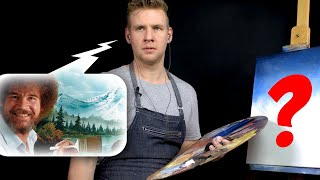 🔊 AUDIO ONLY Bob Ross Painting Challenge!! - (🚫 NO Video!)