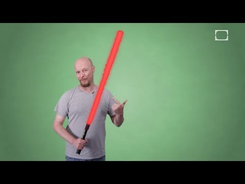 How Does The Lightsaber Effect Work?