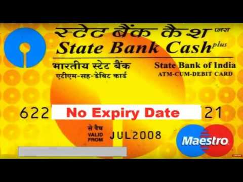 How to Know/find out SBI Maestro/Visa/Master debit Card(ATM) Expiry Date & CVV No. for BHIM app