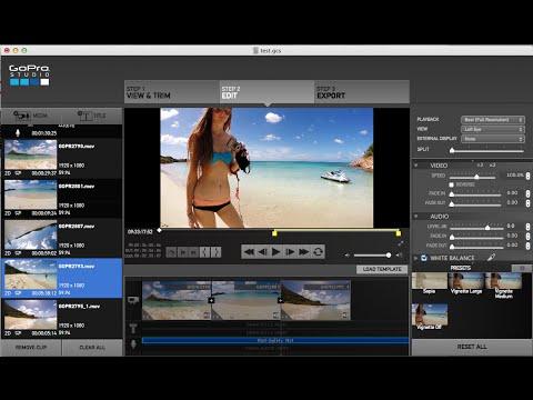 Go Pro Studio - Cut Video Clip Right on the BEAT