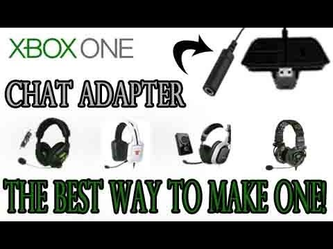 Xbox One: Chat Adapter - The Best Way to make One!