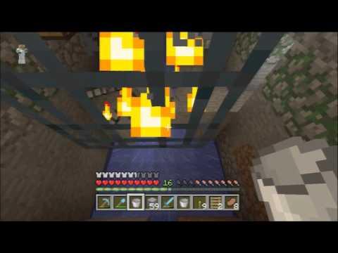 Minecraft Xbox 360 1.0.1 #70 - Spider Spawner, String Farm, XP Farm and Spider Eye Farm!