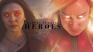 Marvel Ladies || Heroes